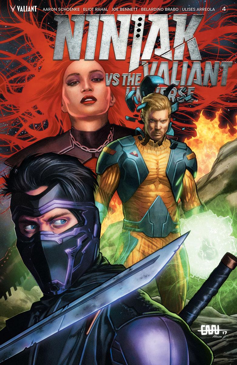 Ninjak vs the Valiant Universe #4