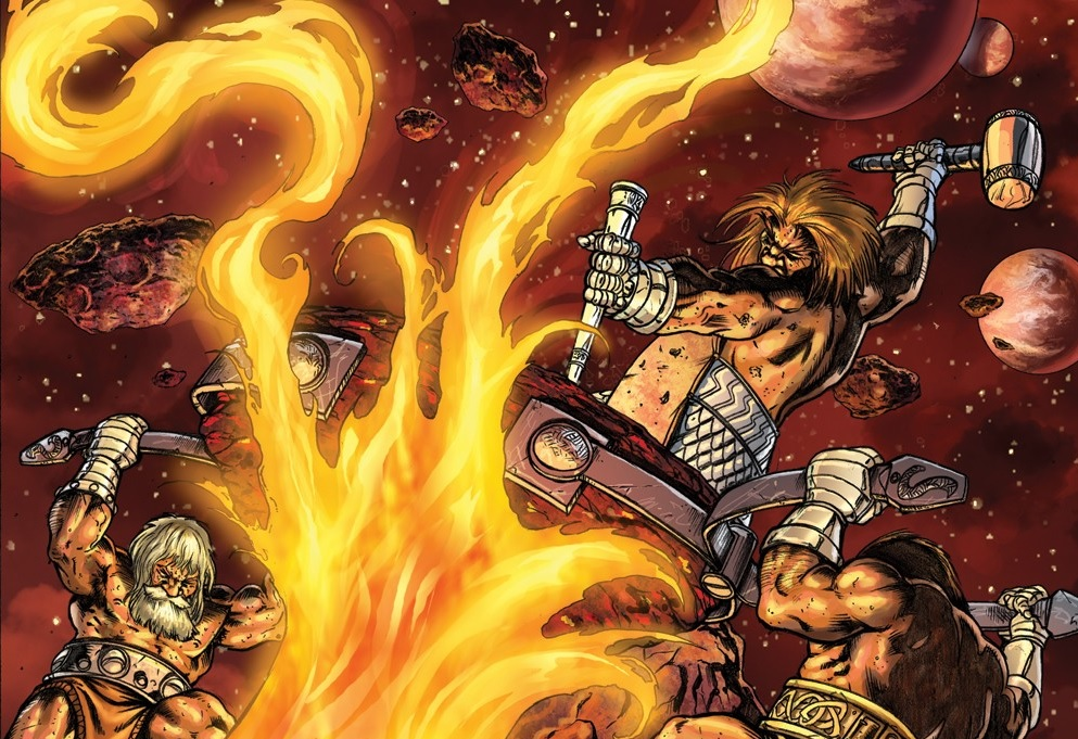 "The Dwarves of ""Nidavellir"" - Marvel Comics"