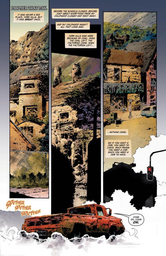 The Curse of Brimstone #1 - Art by Philip Tan - DC Comics