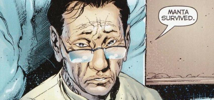 """Dr. Shin in """"Aquaman"""" - DC Comics"""