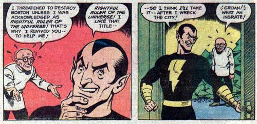 Black Adam - Fawcett Comics