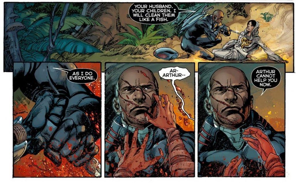 Black Manta and Sahina - DC Comics