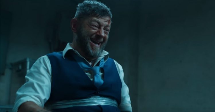 Andy Serkis as Klaue - Black Panther - Marvel Studios