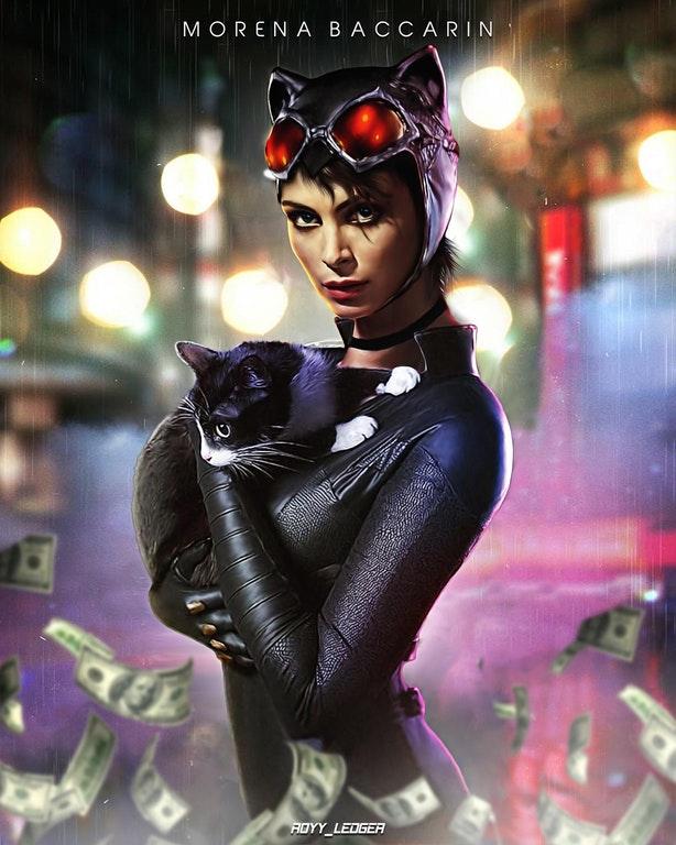 Catwoman Morena Baccarin
