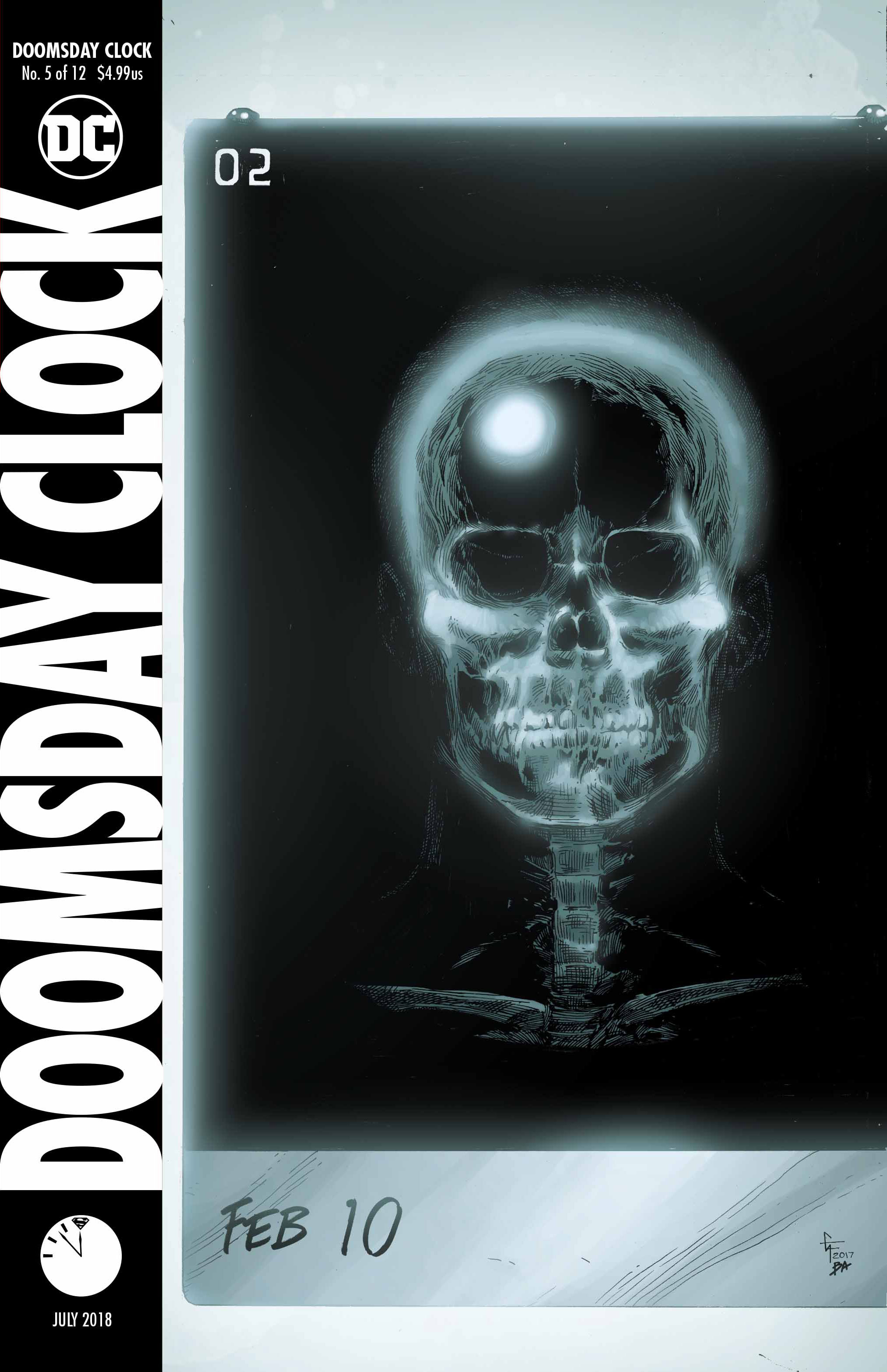 Doomsday Clock #5 Cover - DC Comics