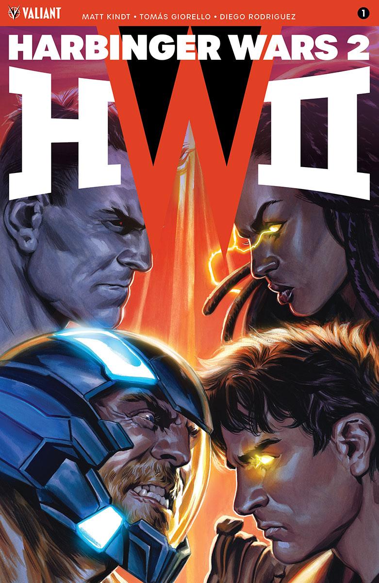 Harbinger Wars 2 #1