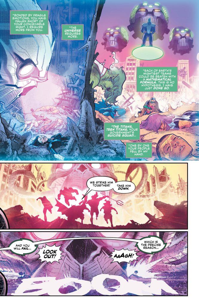 Justice League: No Justice #1 Preview Page - DC Comics