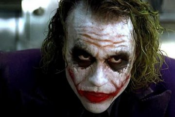 "Heath ledger in ""The Dark Knight"" - Warner Bros."