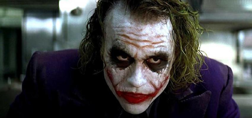 "Heath ledger in ""The Dark Knight"" - Warner Bros."