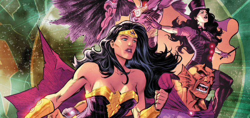 Justice League: No Justice #3 Cover - Art by Francis Manapul - DC Comics