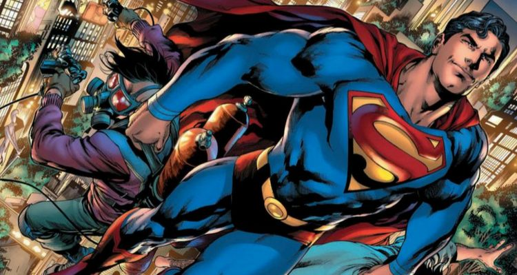 Man of Steel #1 - Art by Ivan Reis - DC Comics
