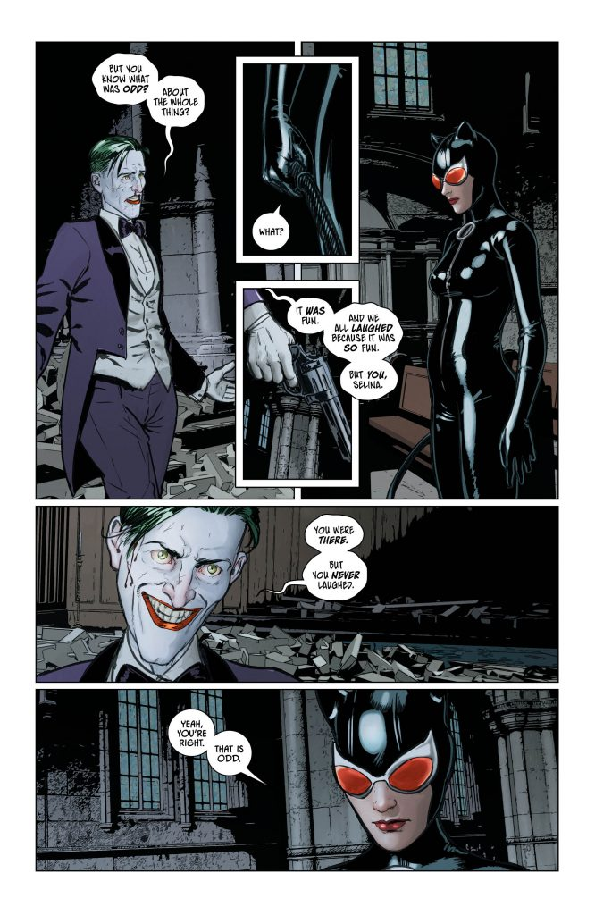 Batman #49 Preview Page - Art by Mikel Janin - DC Comics