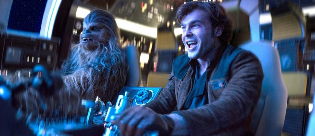 Han Solo and Chewbacca - Solo: A Star Wars Story - Disney and Lucasfilm