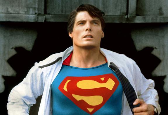 """Christopher Reeve in """"Superman"""" - Warner Bros."""