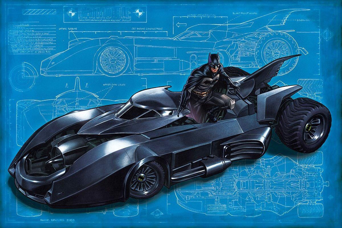 Mark Brooks Batmobile