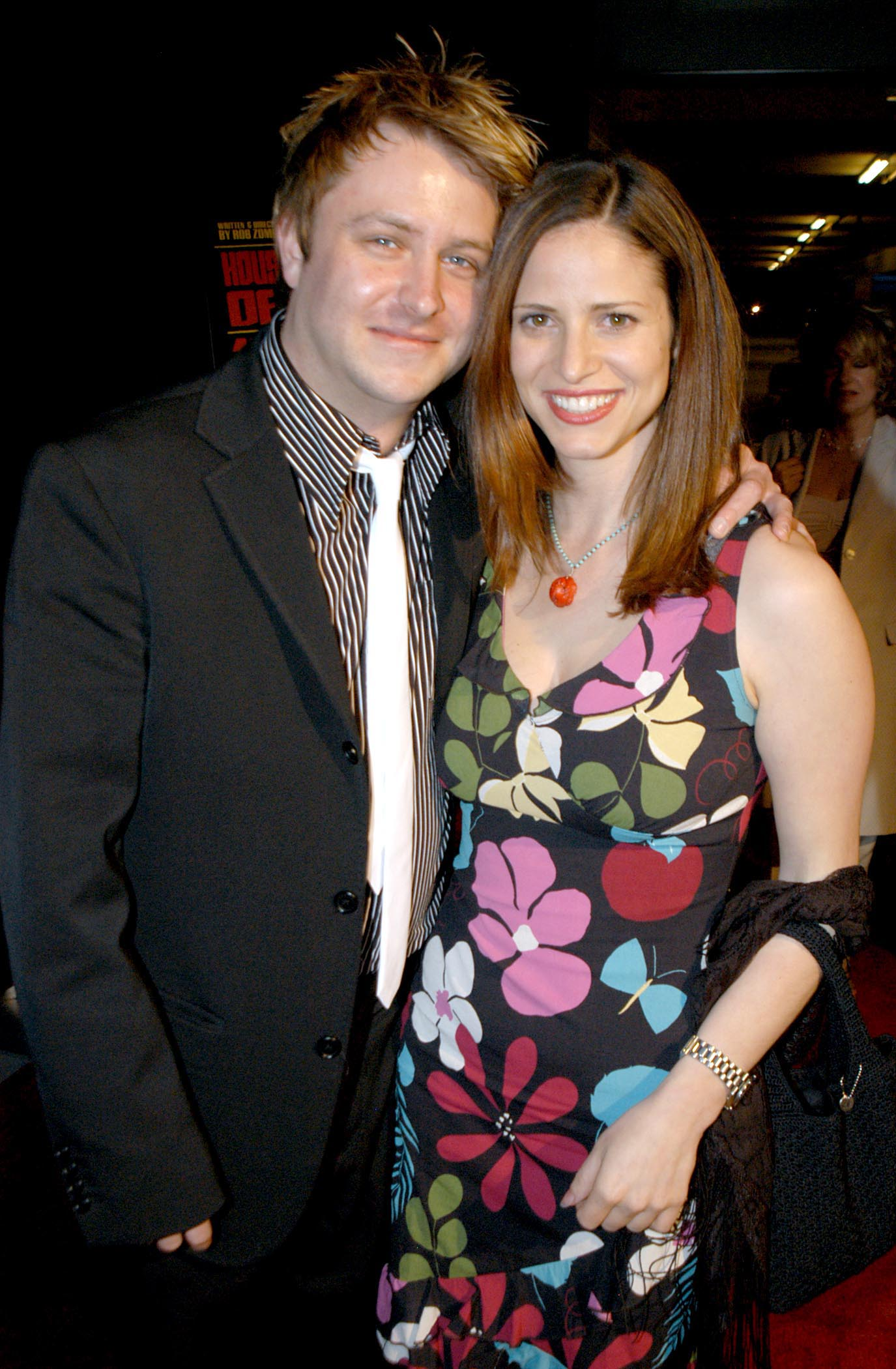 Chris Hardwick and Andrea Savage