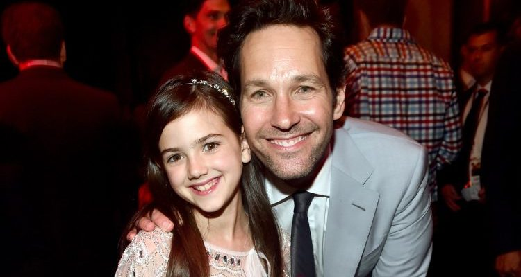 Abby Ryder Fortson and Paul Rudd