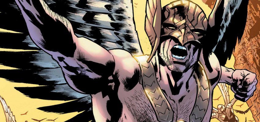 Hawkman #1 Cover - DC Comics