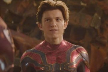 "Tom Holland in ""The Avengers: Infinity War"" - Marvel Studios"