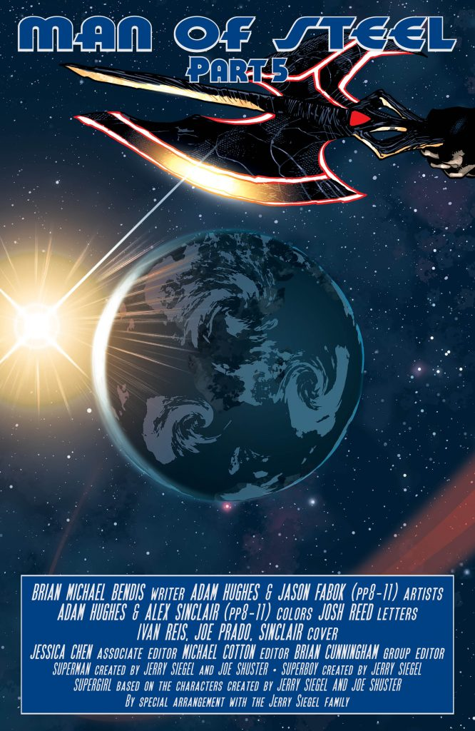 Man of Steel #5 Preview Page - DC Comics