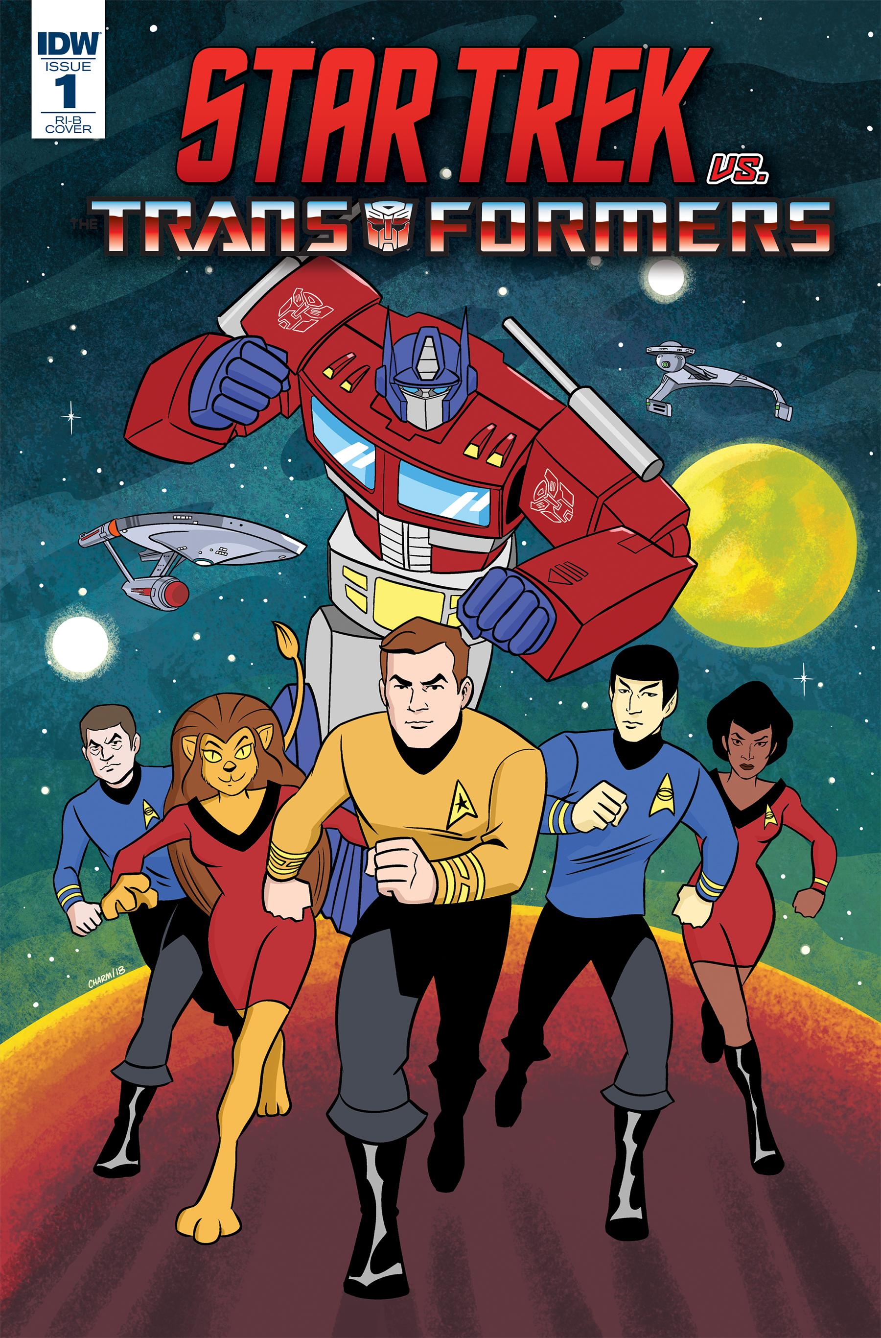 Star Trek vs Transformers