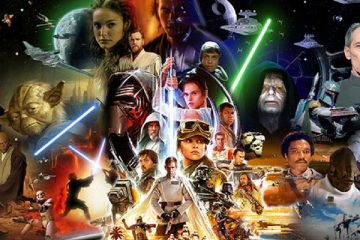 Star Wars: Montage Poster - Lucasfilm and Disney