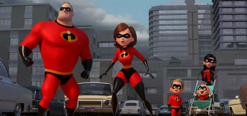 The Incredibles 2 - Disney and Pixar