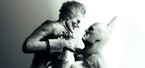 Batman and Joker in Batman: Arkham Asylum - Rocksteady & Warner Bros. Entertainment