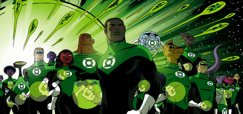 Green Lantern Corps - Darwyn Cooke - DC Comics