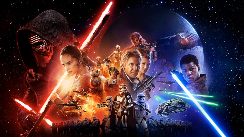 Star Wars: The Force Awakens Banner - Disney and Lucasfilm