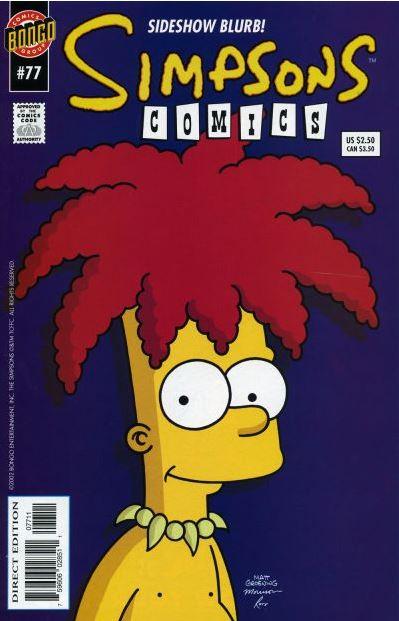 Simpsons Comics #77
