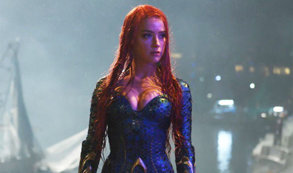 "Amber Heard as Mera in ""Aquaman"" - Warner Bros."