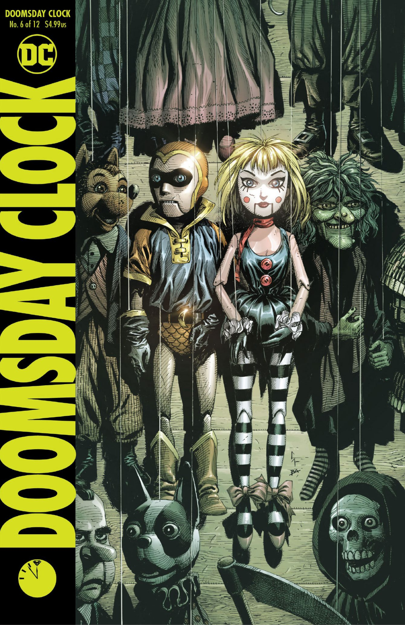 Doomsday Clock #6 Variant Cover - DC Comics