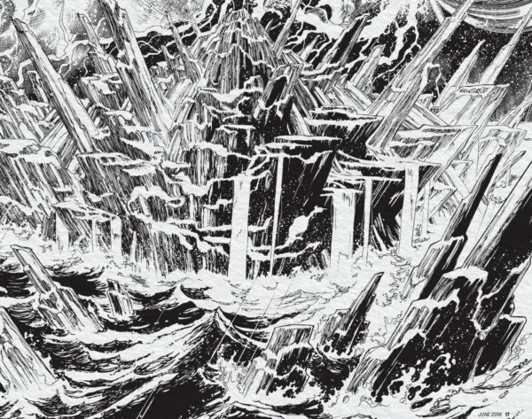 Fortress of Solitude by Ivan Reis - DC Comics