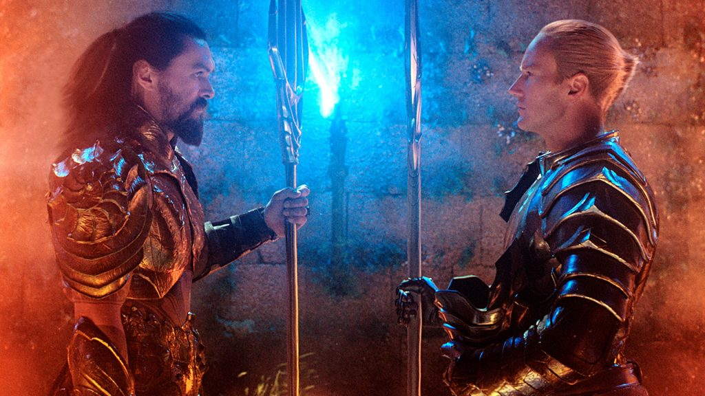 "Patrick Wilson and Jason Momoa in ""Aquaman"" - DC Comics"
