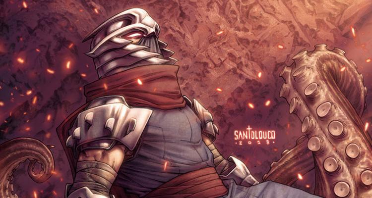 Shredder in Hell