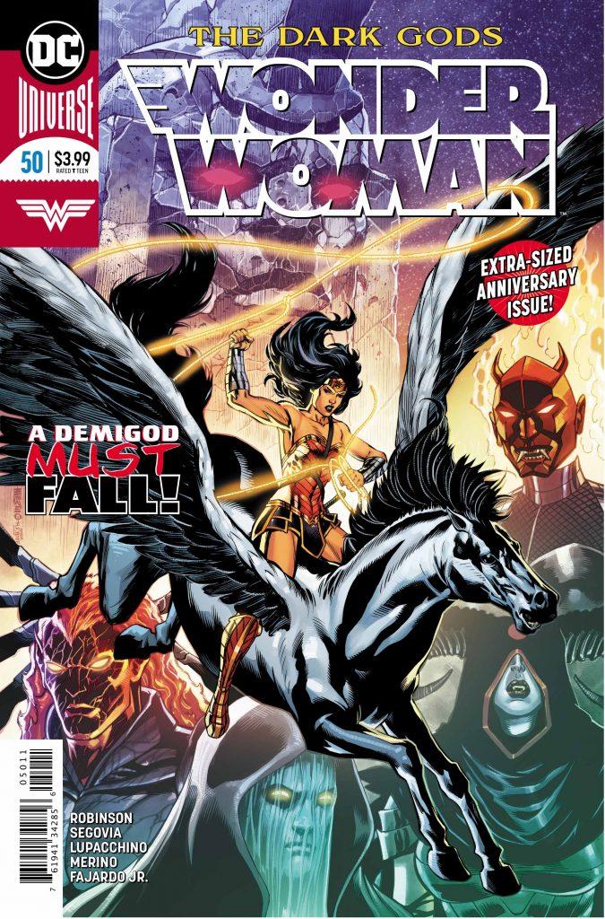Wonder Woman #50 Cover - DC Comics