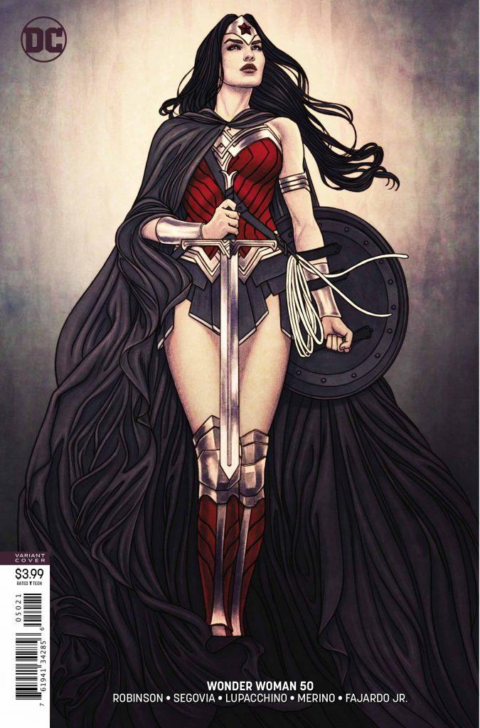 Wonder Woman #50 Variant Cover - DC Comics
