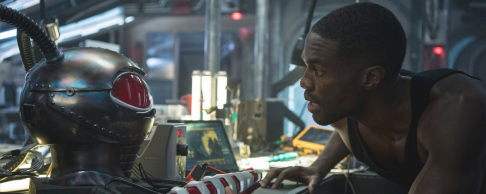 "Yahya Abdul-Mateen ii as Black Manta in ""Aquaman"" - Warner Bros."