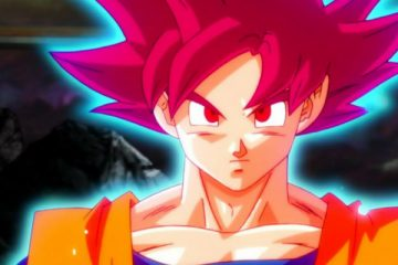 "Super Saiyan God Goku in ""Dragon Ball Super"" - Toei Animation"