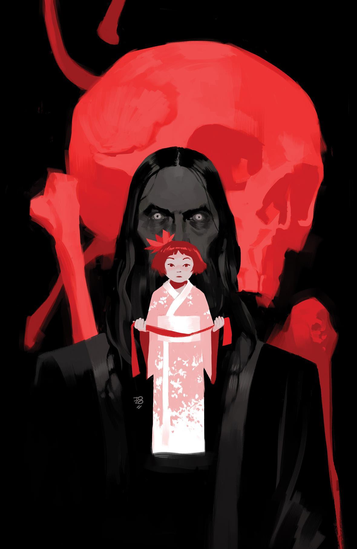 Crimson Lotus #1 Cover by Tonci Zonji