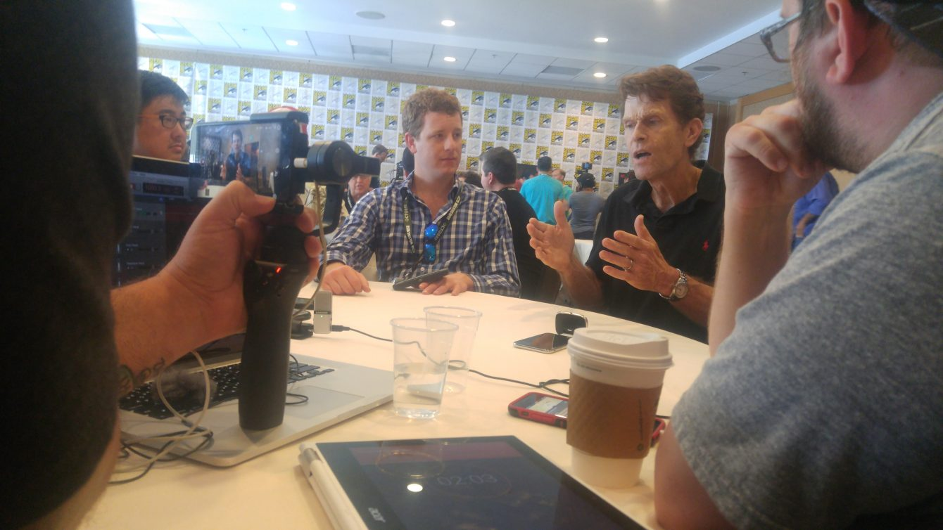 Kevin Conroy at the 2018 San Diego Comic Con