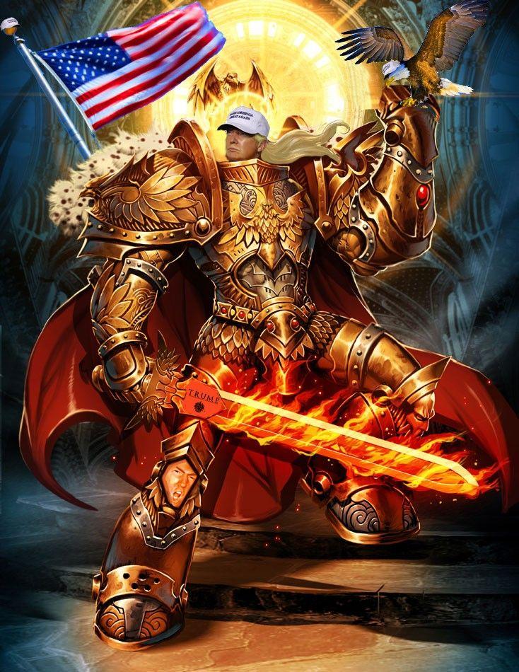 Warhammer trump