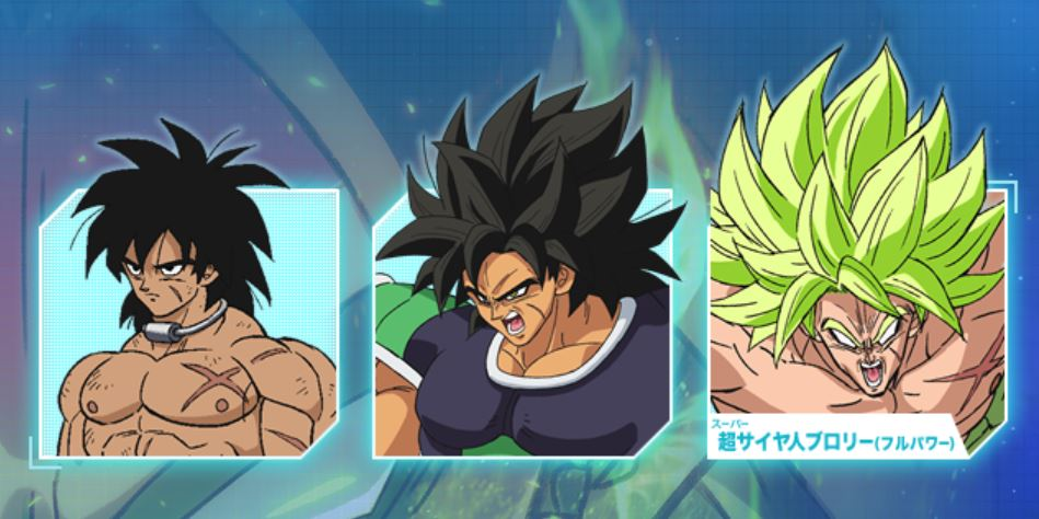 Broly Transformation