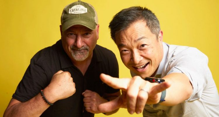 Dan DiDio and Jim Lee