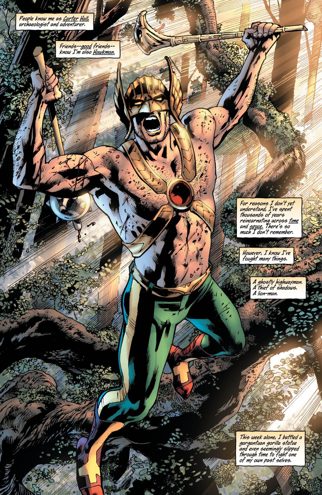 Hawkman #3 Preview Page - DC Comics