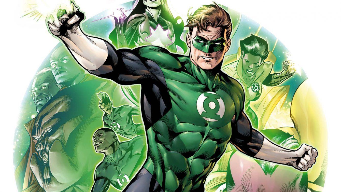 "Hal Jordan in ""Green Lantern Corps"" - DC Comics"