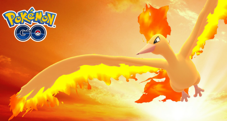 Moltres Pokemon Go