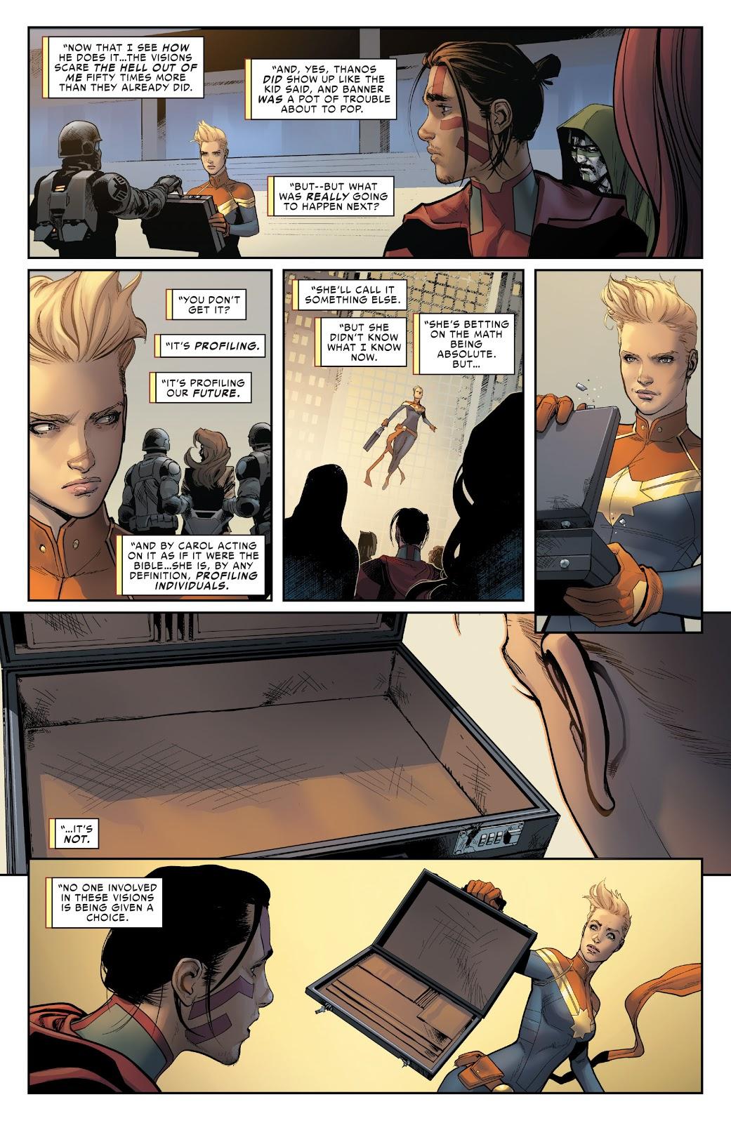 Captain Marvel Pre-Crime