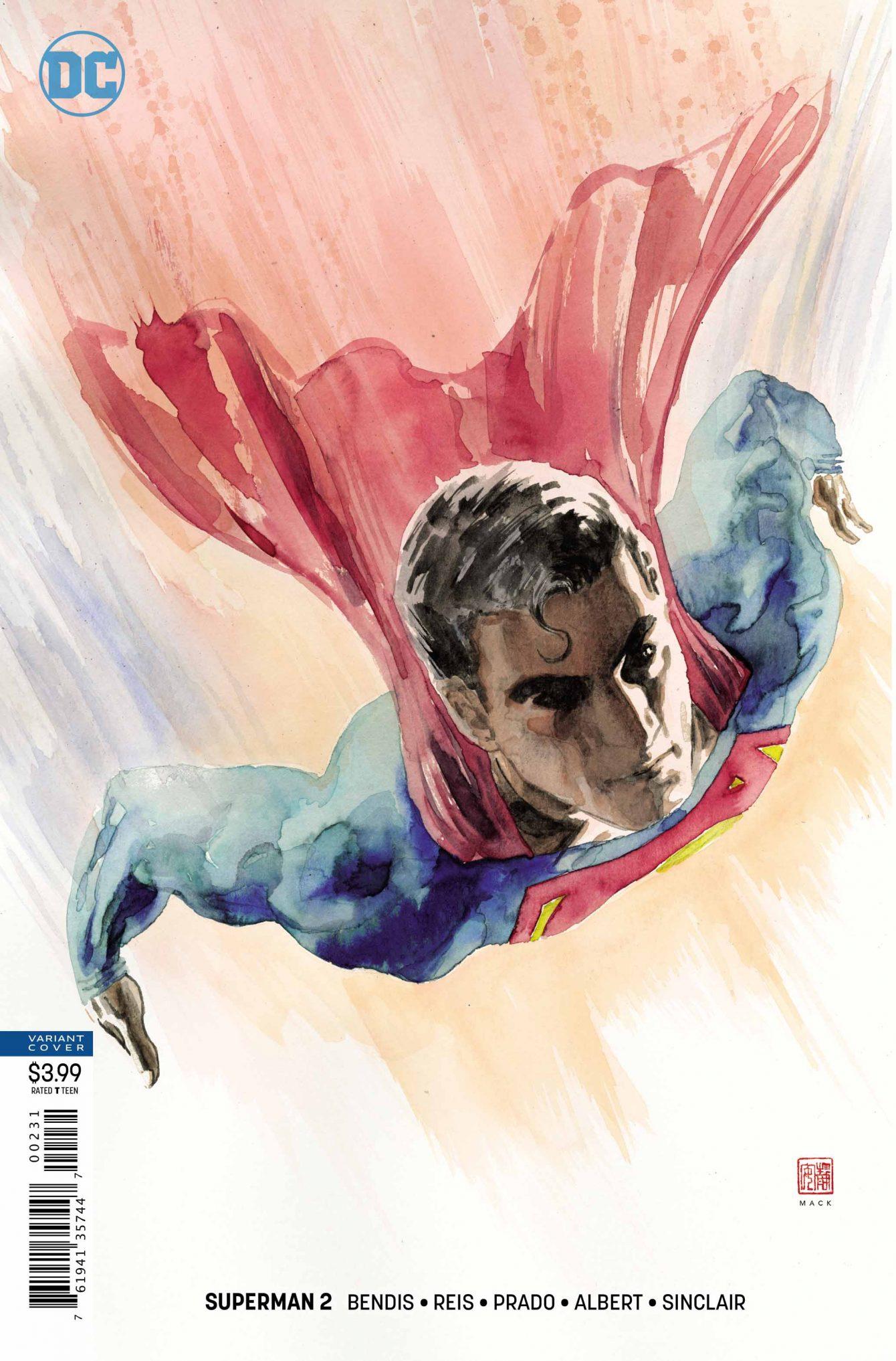 Superman #2 Variant Cover - DC Comics